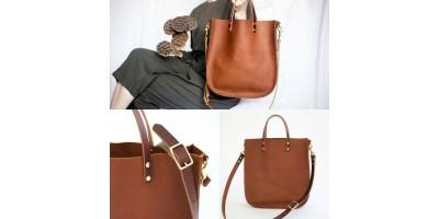 Большие кожаные женские сумки ШОППЕРЫ