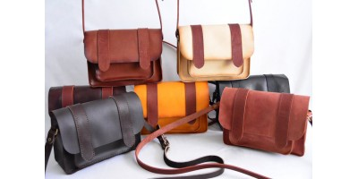Кожаные женские сумки ручной работы
