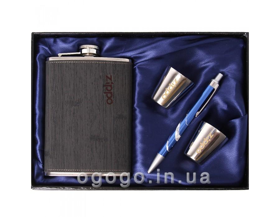 Недорогой подарочный набор с флягой FL00060