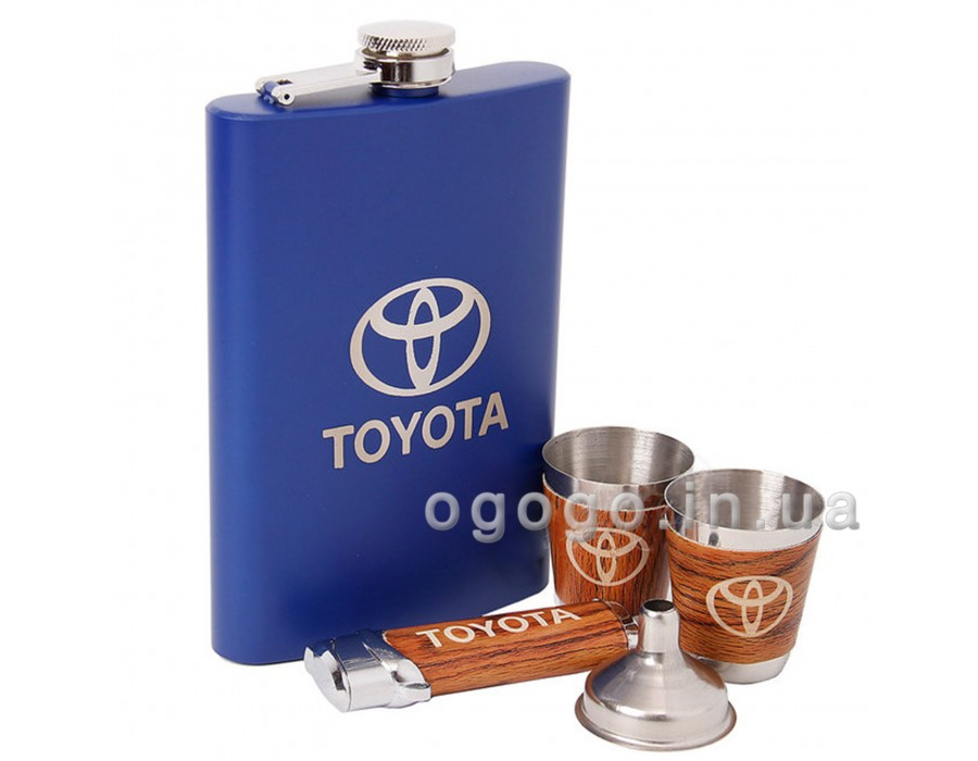 Подарочный набор фляга Тойота FL00072