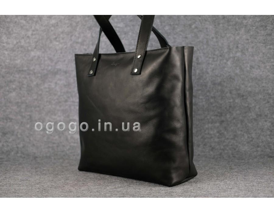 d4e287fb08e1 Купить большая зеленая кожаная женская сумка шопер - интернет ...
