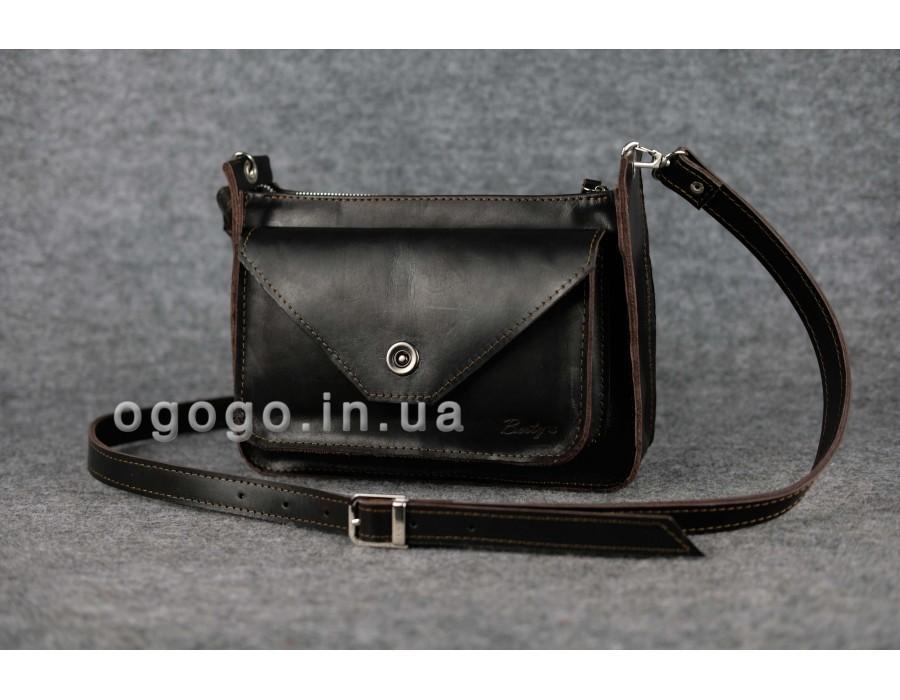 3fa5a71cff59 Качественная женская сумка из итальянской кожи K00004-10