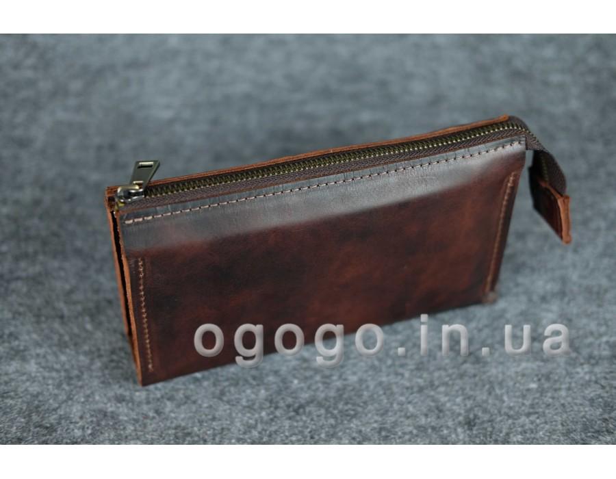 Кожаные кошельки ручной работы K00026-10