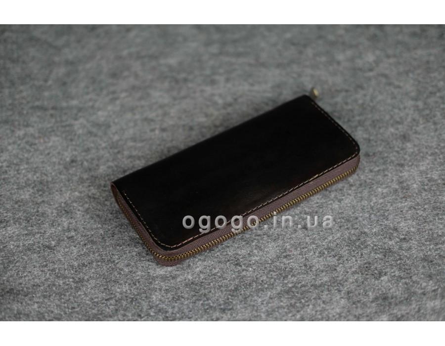 Качественный кошелек ручной работы из итальянской кожи K00035-11