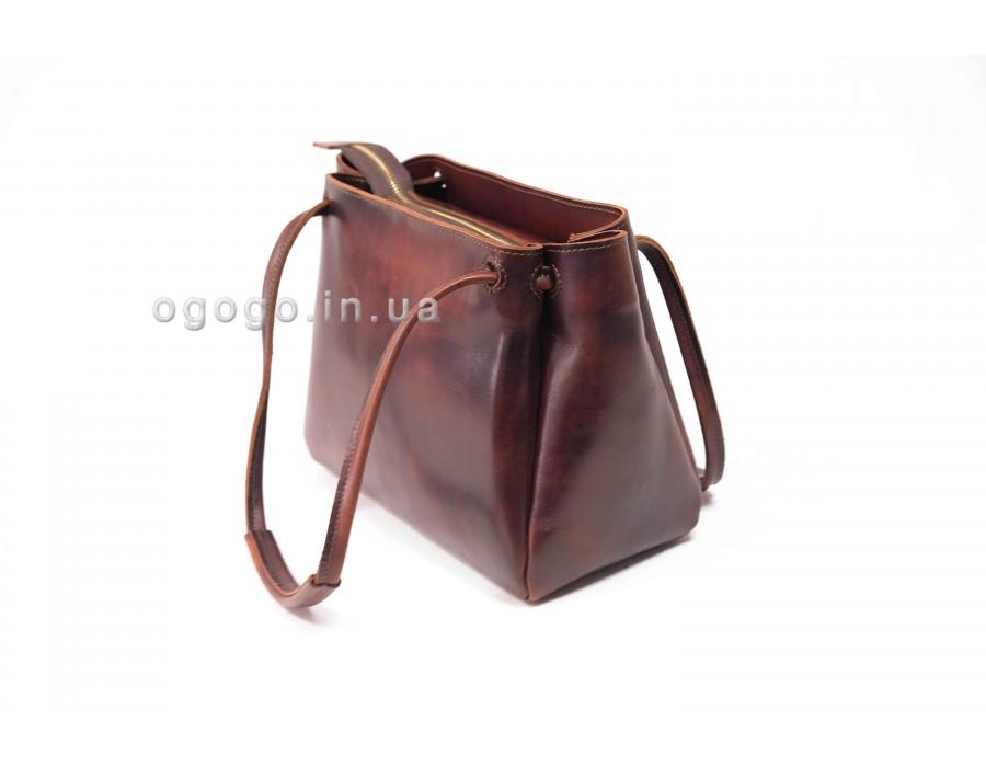Женская сумочка из натуральной кожи ручной работы K00044-5