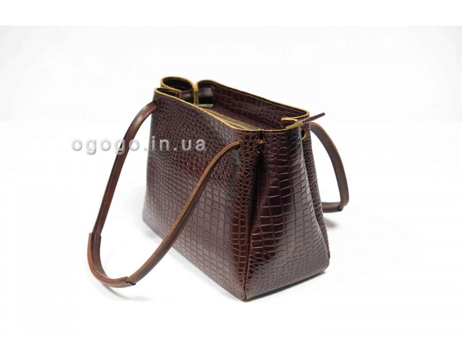 Женская сумка из кожи крокодила K00044-9