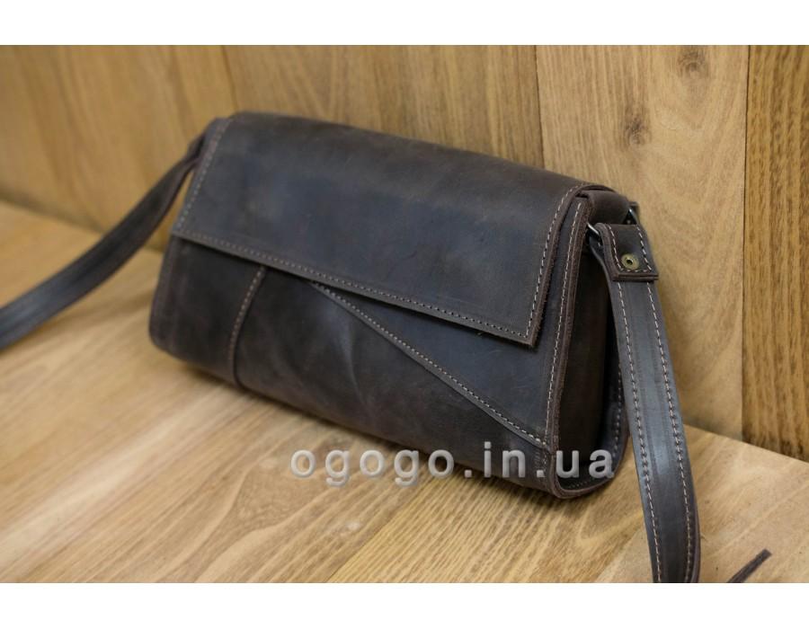 Кожаная женская сумочка ручной работы K00046-3