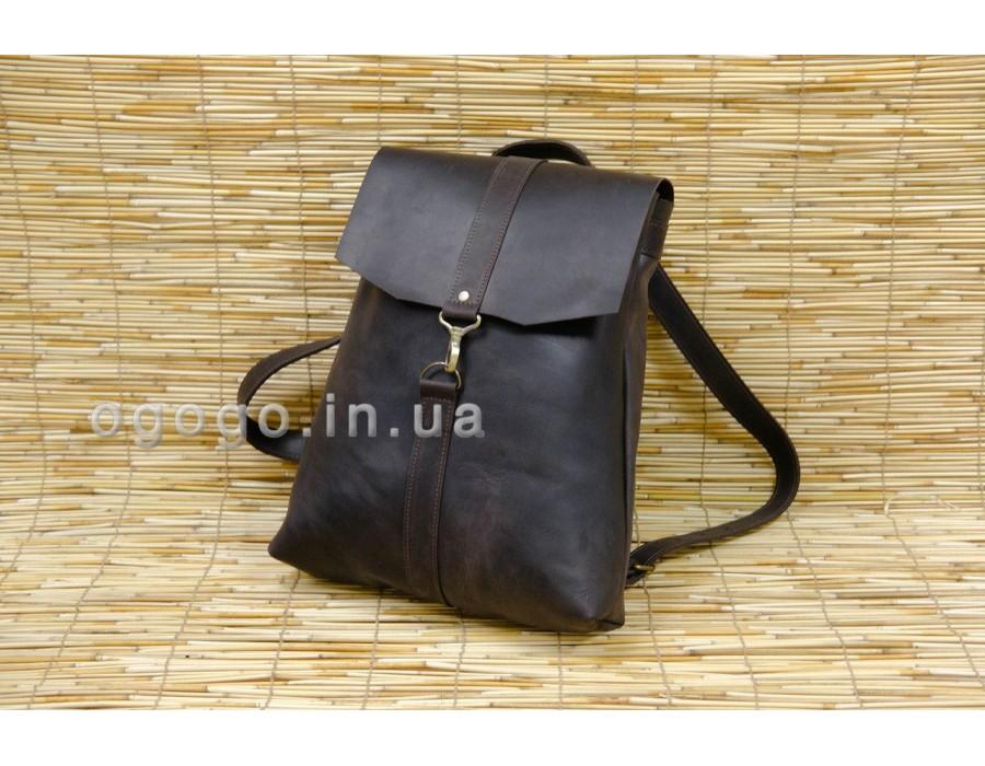 Рюкзак из кожи крейзи хорс K00047-3