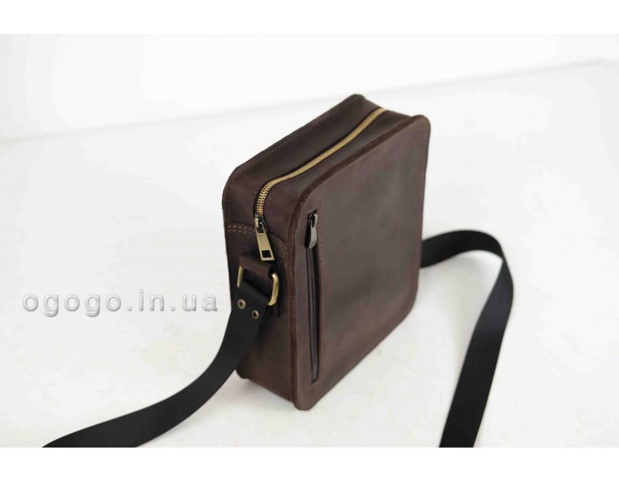 Мужская сумка из натуральной кожи ручной работы K00048-2