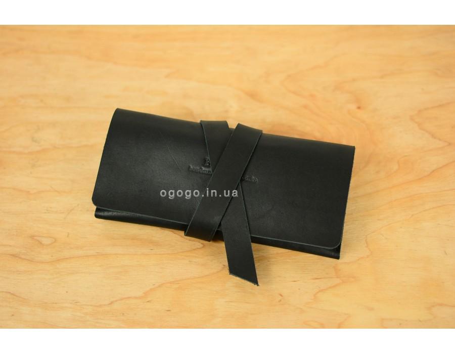 31571b358ea7 Кожаный женский кошелек-клатч с закруткой K00019-4