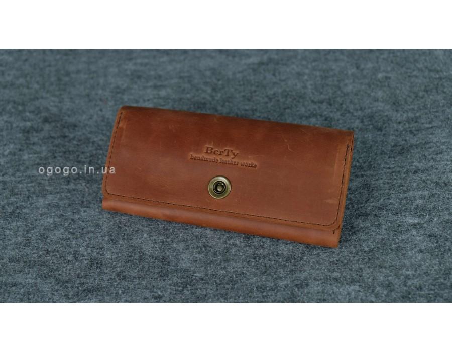 5f479f461b65 Кожаный кошелек на много карточек K00020-10