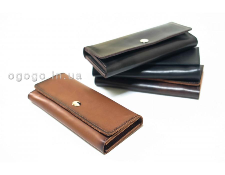 a91d23dd77aa Кожаный кошелек на много карточек K00020-4