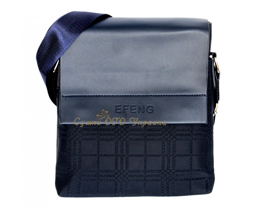 Синяя мужская сумка MS00069