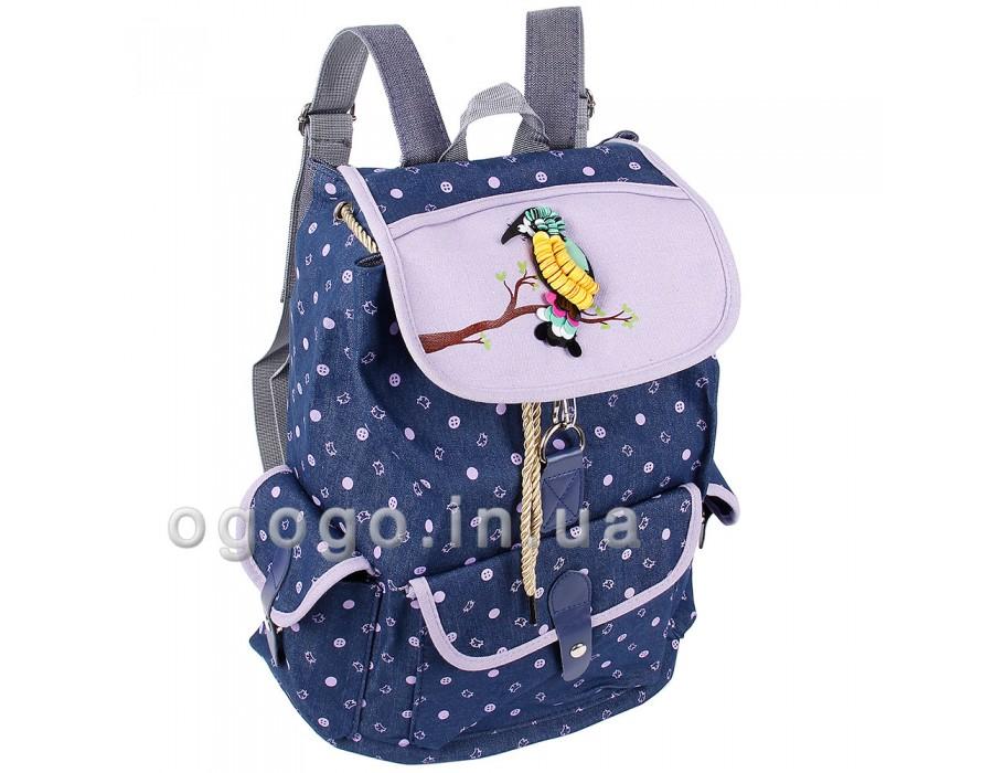 Женский тканевый рюкзак для прогулок R00131