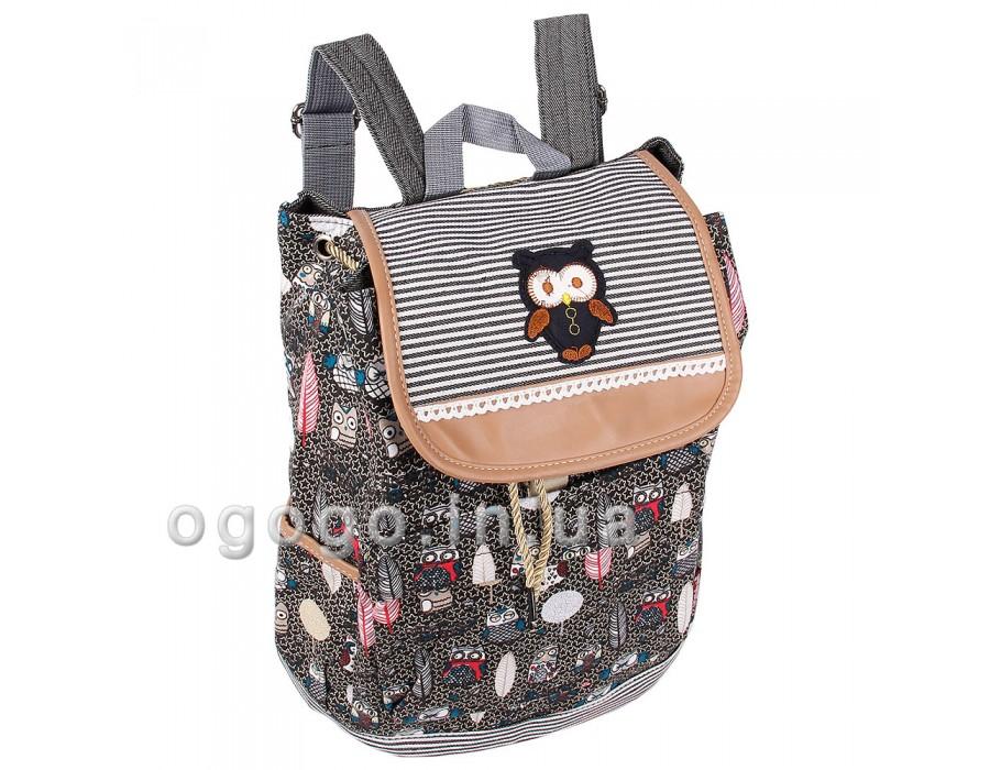 Тканевый женский рюкзак дешево R00133