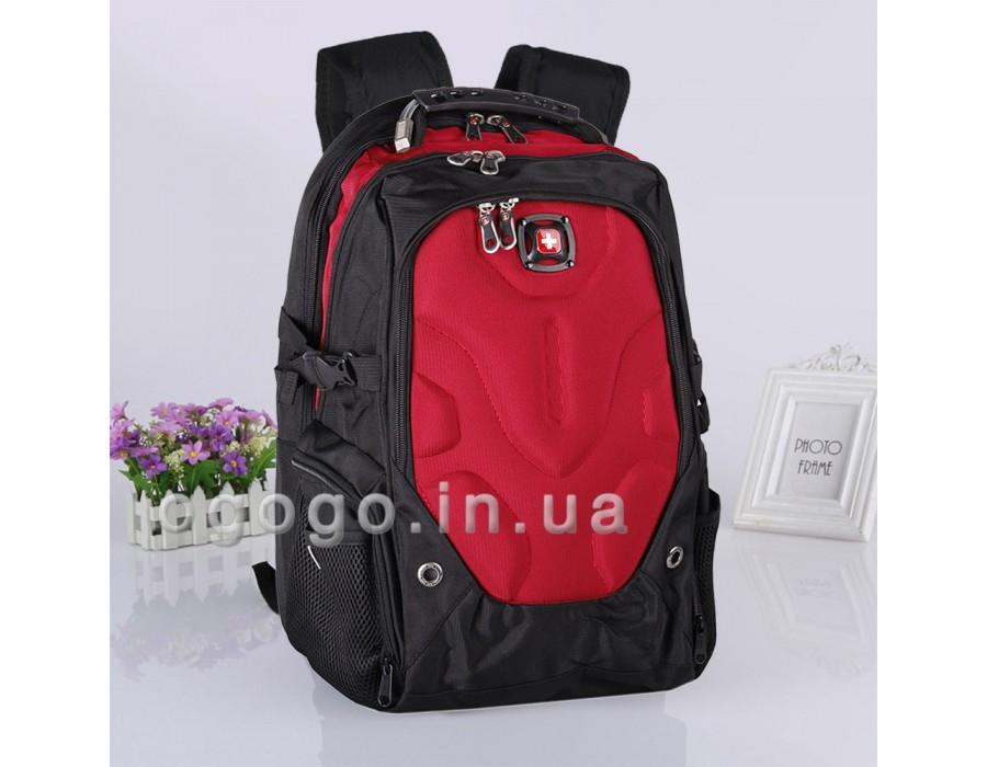 Современный рюкзак красного цвета R00033