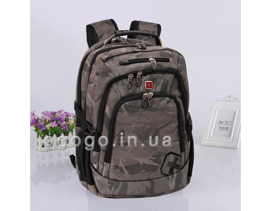 Свиссгир хаки дорожный рюкзак R00042