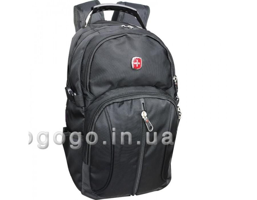 Повседневный черный рюкзак R00045