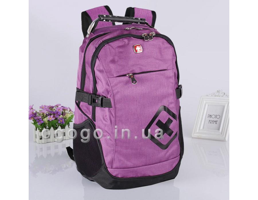 Фиолетовый городской унисекс рюкзак R00046