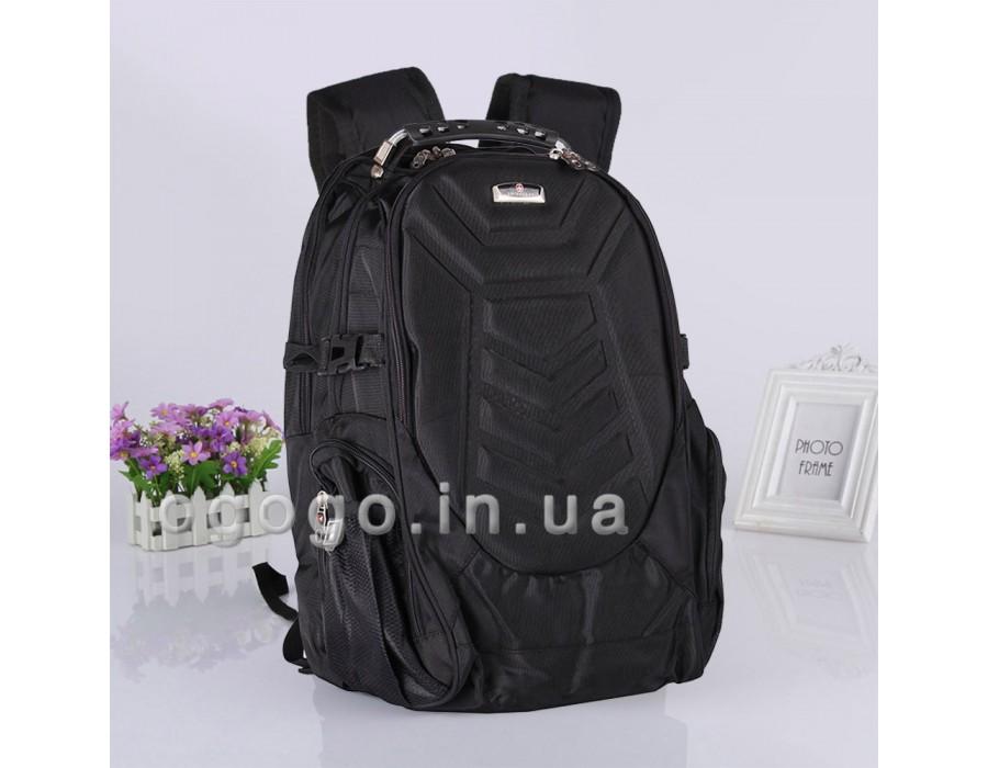 Классический чёрный рюкзак SwissGear R00047
