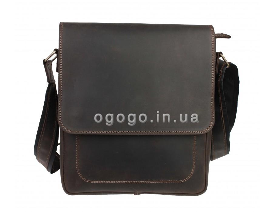 4d3b6d87885b Большая кожаная мужская сумка через плечо S00016-1