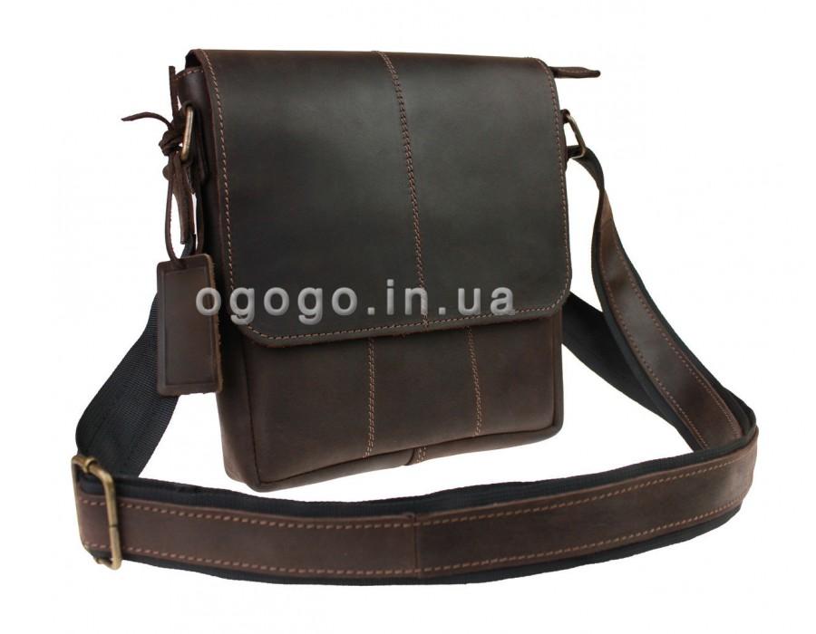 Кожаная сумка через плечо S00024-2