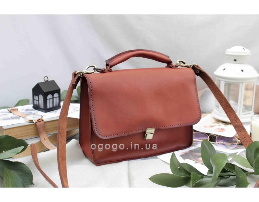 Кожаный деловой портфель для женщин T00003-2