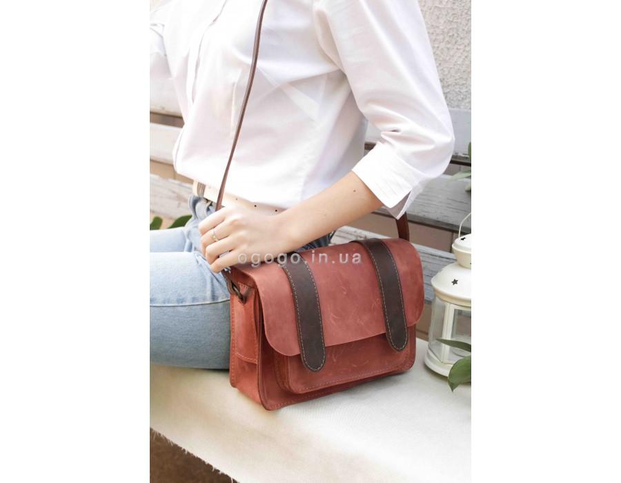 Женская сумка из натуральной кожи T00013-2