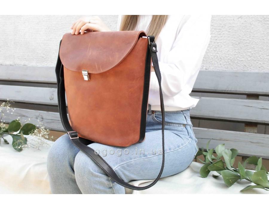 Женская кожаная сумка T00015-2